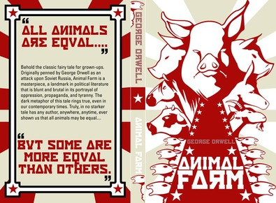 a metaphor for the life in the ussr in the novel animal farm by george orwell A summary of themes in george orwell's animal farm in the soviet union animal farm is most famous in as the novel progresses orwell's sophisticated.